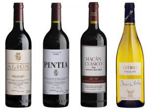 Botellas_de_Vinos-Grupo_Tempos_Vega_Sicilia-Cata-Coloquio_con_Bodegueros