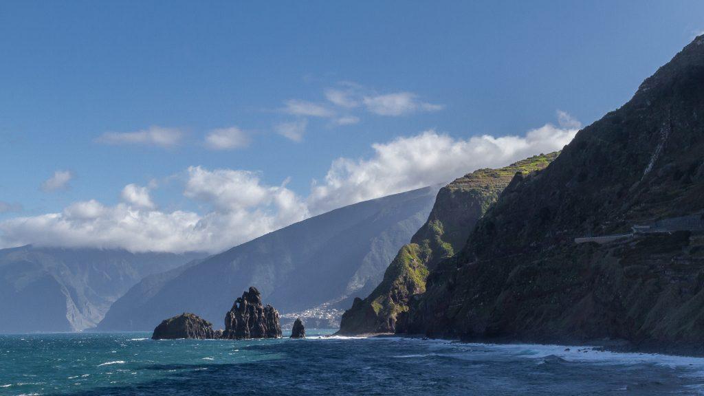 Madeira cliffs, vistas desde Moniz Sol