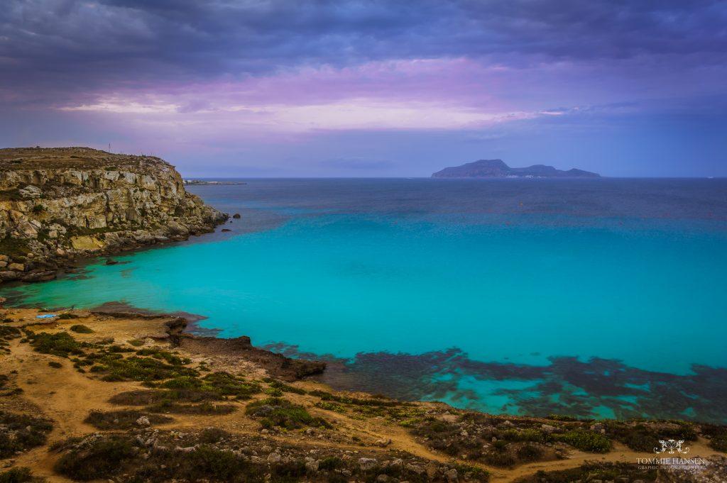 Isla Favignana en Sicily (Italy)