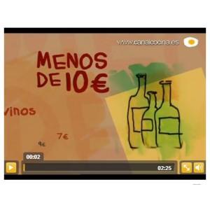 Maite Santa Cecilia, nos descubre que para que un cava sea bueno no hace falta que sea caro - Canal Cocina (Noviembre 2010)