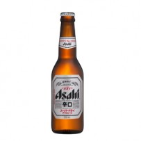 ASAHI SUPER DRY BOTELLA 1/3L.